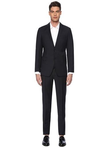 George Hogg George Hogg 7003495 Ceket Yaka Uzun Kol Slim Fit Erkek Takım Elbise Lacivert